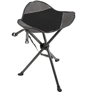 Light And Compact, Multi Functional And Easy To Use, Portal Black Camping  Stool Is The Best Gear To Carry With In Outdoor Activities.