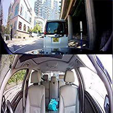 360 degree parking monitor dash cam