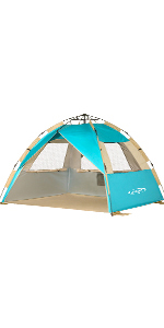 Instant Beach Tent Sun Shelter 3-4 Person
