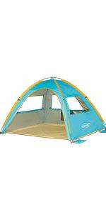 Pop Up Beach Tent 3-4 Person