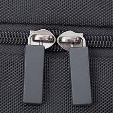 metal durable double zipper