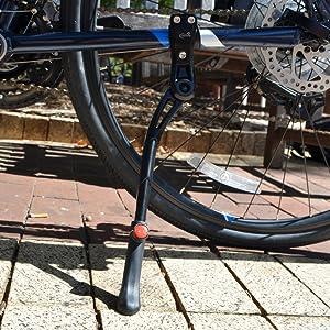 Kickstand bike outside outdoor universal black