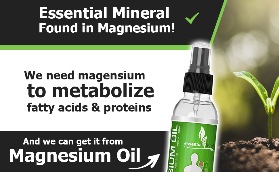 essential mineral found in magnesium