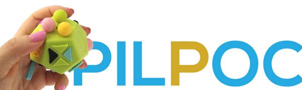 PILPOC theFube Fidget Cube 12 sides premium quality stress relief toy exclusive case