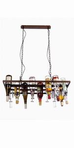 Hanging Rust Island Bar Restaurant Pendant Lamp Light Fixtures