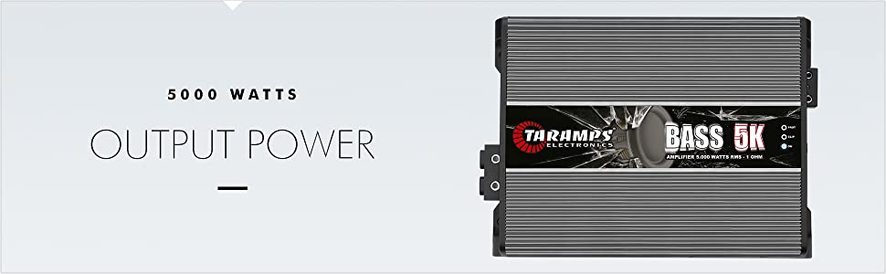Radiator 5000 Watt.Amazon Com Taramp S Bass 5k 1 Ohm 5000 Watts Class D Mono