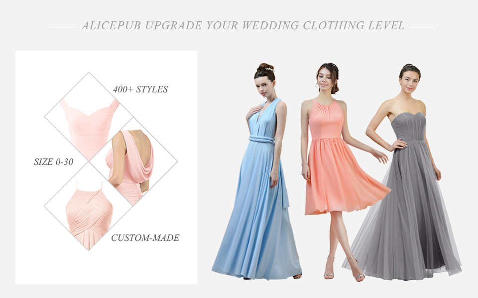 ALICEPUB is the online destination for bridal wedding dress and special occasion dresses. Our online boutique connects bridesmaids and brides with over 400 ...
