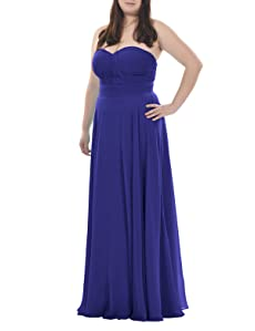 The dress comes in sizes US0-30, custom-made service is also available.