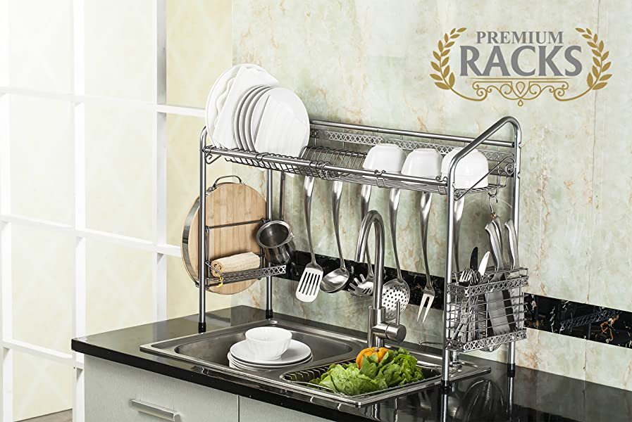 Amazon.com: PremiumRacks Professional Over The Sink Dish Rack