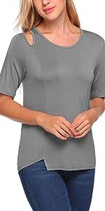 5fec8a92054b5d Zeagoo Women s Off Shoulder Top · Zeagoo Womens Polo Top Pique T-Shirt · Zeagoo  Women s Off Shoulder Chiffon Blouse · Zeagoo Women s V Neck T-Shirt Tops ...