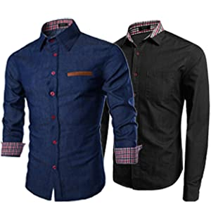 men button shirt