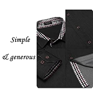 men business dress shirt