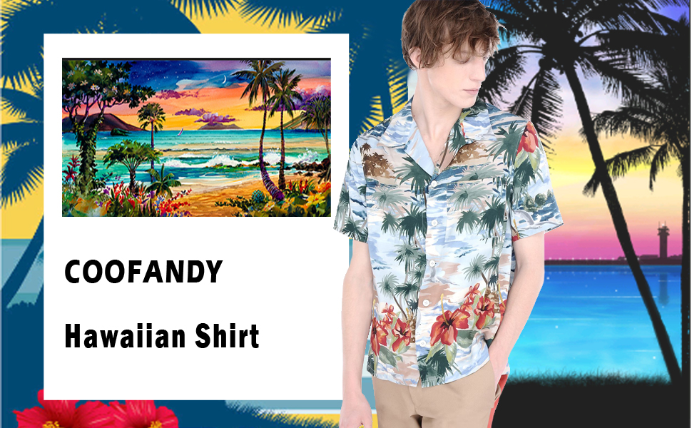 Happy Time Mens PRINTED T-SHIRT Beach Holiday Text Summer Palm Trees