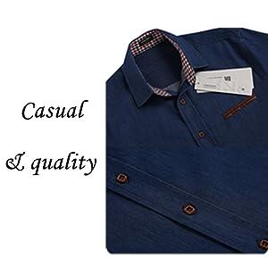 casual button shirt