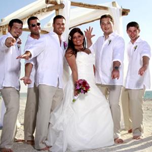 men beach wedding linen pants