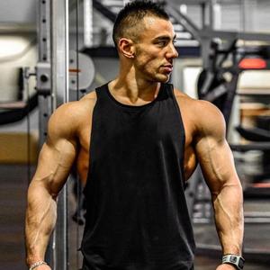 Mens Cool Tank Tops Gym Shirt Sleeveless T shirts
