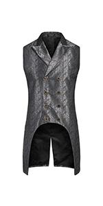 men's steampunk suit vest