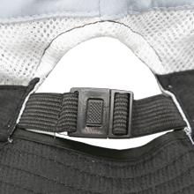 adjustable elastic clip ponytail hole