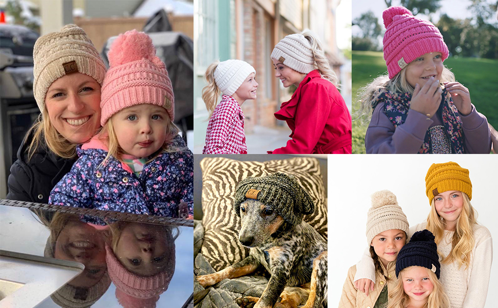 cc beanie kids womens hats
