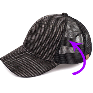 breathable mesh back airflow prevent sweat trucker hat design
