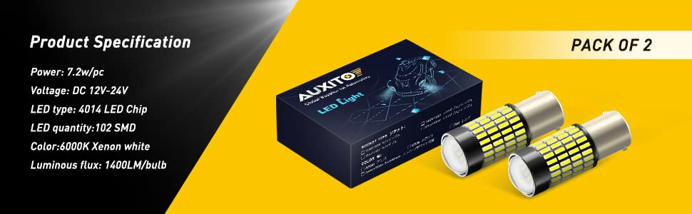 1156 led bulbs package