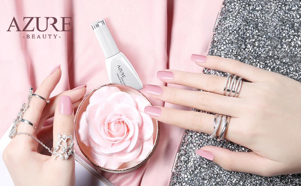 Amazon Com Azure Beauty Soak Off Uv Led Gel Nail Polish For Nails
