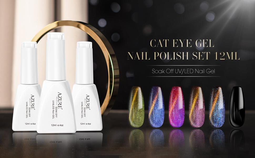 cat eyes gel nail polish