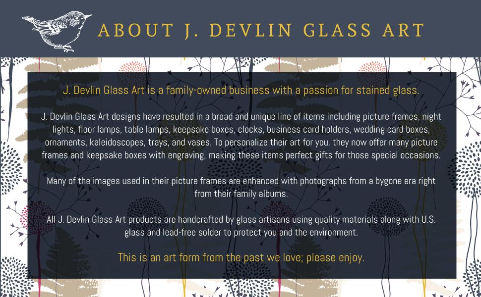 J Devlin Glass Art Uncharted Visions