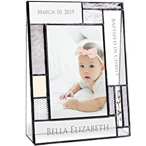 new baby gift baptism personalized engraved