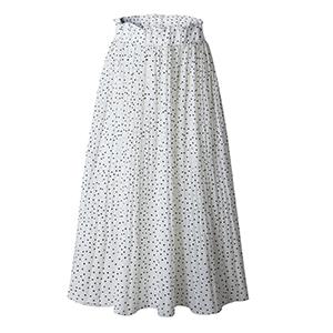 casual skirt for women white