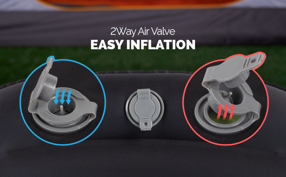 inflatable pillow for camping and travel