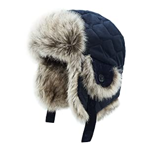 2078c79a55181e Amazon.com: Keepersheep Baby Boy Ushanka Earflap Winter Trooper Hat ...