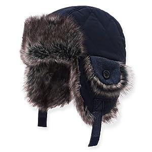 fb46d21b68b54 Amazon.com  Keepersheep Baby Boy Ushanka Earflap Winter Trooper Hat ...