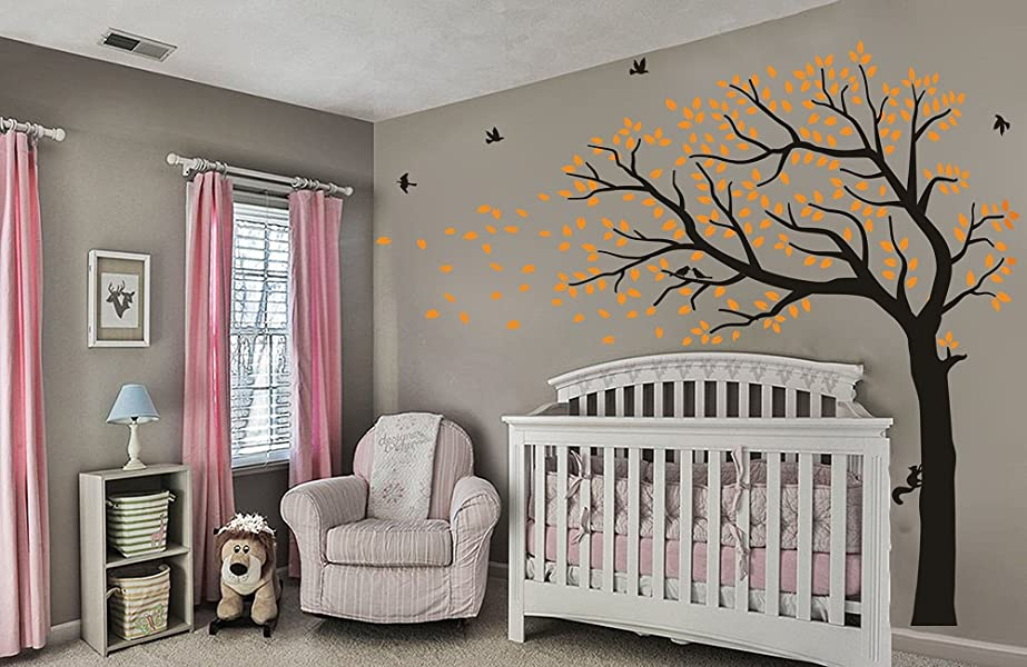 Amazon Luckkyy Large Falling Family Tree Wall Decals Wall