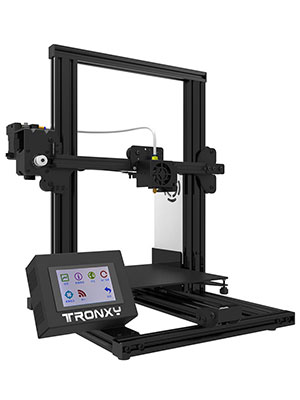 TRONXY XY-2 3D Printer Wireless LCD 3D Printer with Color Touch Screen & Aluminum Frame, 4-Step DIY Assembled Upgraded Nozzle Heat Bed for PLA, ABS ...
