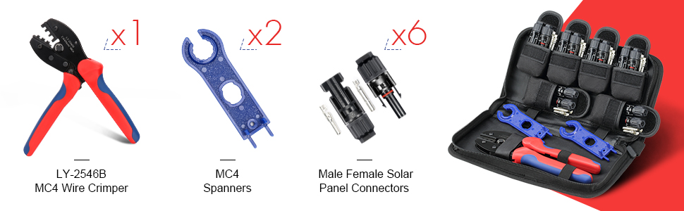 solar connector kit