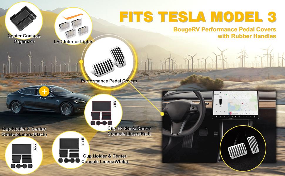 Tesla Model 3 Pedals