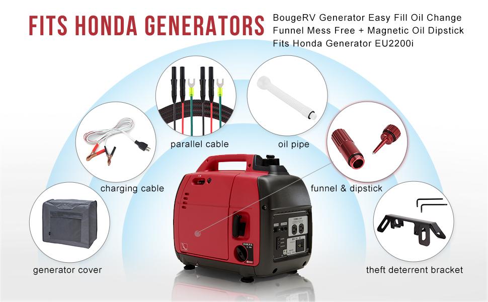 generator oil diagram amazon com bougerv fits honda eu2200i generator easy fill oil  bougerv fits honda eu2200i generator