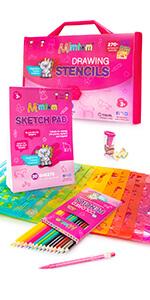 kids stencils for girls