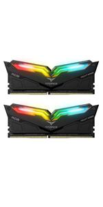 TEAMGROUP T-Force Night Hawk RGB DDR4 16GB Kit SDRAM 2x8GB 4000MHz CL18 - White