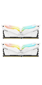 TEAMGROUP T-Force Night Hawk RGB DDR4 16GB Kit SDRAM 2x8GB 4000MHz PC4-32000 CL18 Desktop Memory ram
