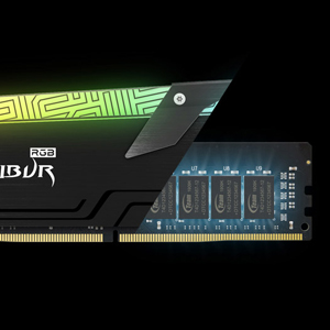 TEAMGROUP T-Force Xcalibur RGB DDR4 16GB (2x8GB) 4000MHz PC4-32000 CL18 Memory Ram - Special Edition