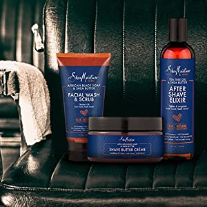 SheaMoisture Men, Men products range, Men grroming products, men body care, men grooming care