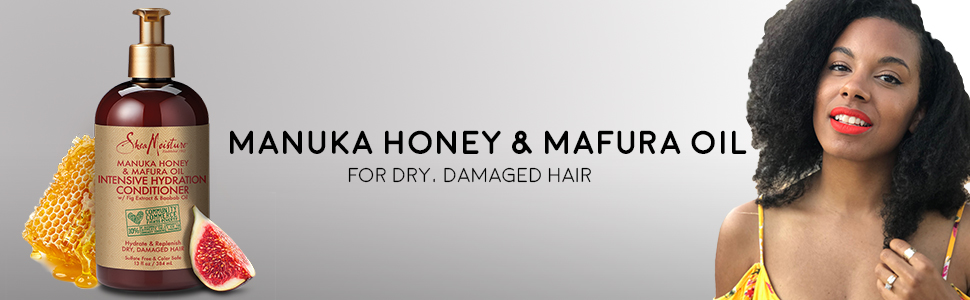 SheaMoisture Manuka Honey & Mafura Oil Intensive Hydration Hair Conditioner   13oz