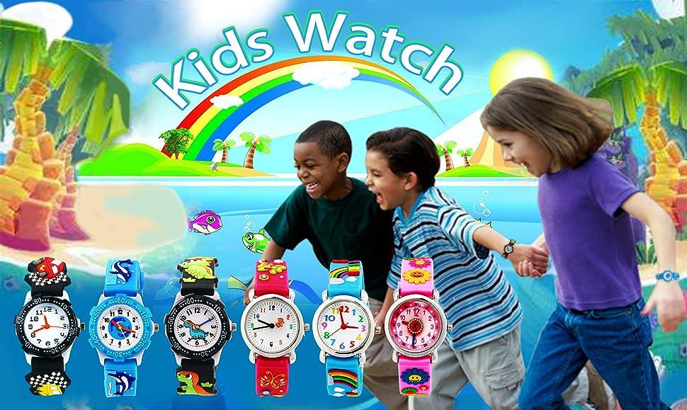 Initiative 2018 Cute 3d Cartoon Lovely Kids Girls Boys Children Students Football Quartz Wrist Watch Very Popular Watches Watches