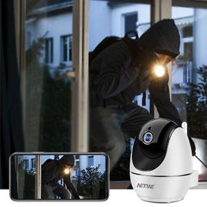 Wireless IP Camera 1080P, Home Indoor Security Camera, Pet Dog Nanny Baby Camera Monitor Dome Camera