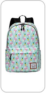 flamingos backpack for girls