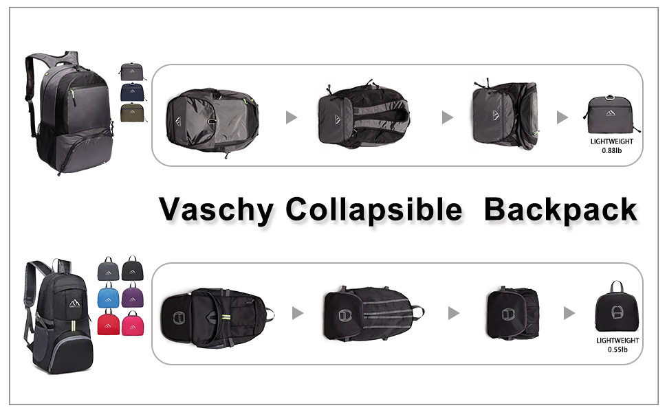 Amazon.com   VASCHY Hiking Backpack 37ee427c38b8c