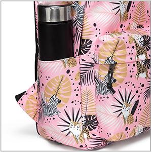 pink backpack for girl
