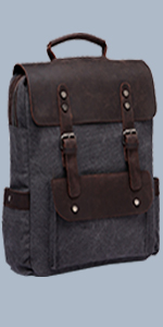 26487d78fd82 Anti-thef Canvas Grey Backpack for Men · Anti-thef Canvas Blue Backpack for  Men · Vintage Leather Canvas Grey Backpack for Women and Men · Vintage  Leather ...